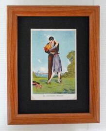 Valentinstag Hochzeit Dekoration Bilder mit historischen Motivpostkarten