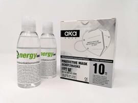 Behelfsmasken energy ink