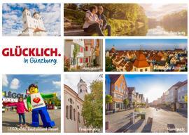 Geschenkanlässe Günzburg Postkarten Glücklich. In Günzburg.