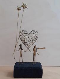 Figuren, Skulpturen & Statuen Hochzeit Sonata Gallery
