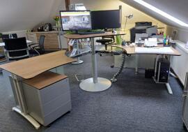 Büromöbelgarnituren Verstellbare Zeichentische CP