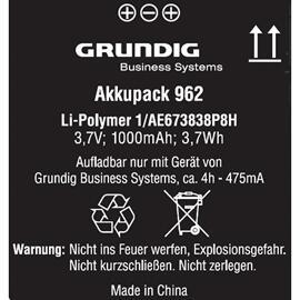 Akkus & Batterien Grundig
