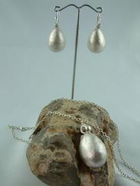 Handmade Kunst & Unterhaltung Schmucksets Ostern handgefertigte Unikate