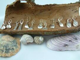 Handmade Geschenkanlässe Kunst & Unterhaltung Ohrringe handgefertigte Unikate in verschiedenen Größen