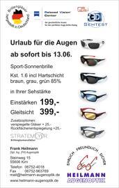 Outdoor-Aktivitäten Heilmann Augenoptik