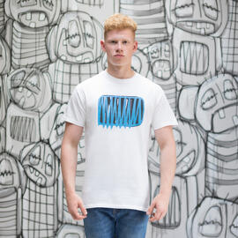 Handmade Kunst & Unterhaltung Rundhals-T-Shirts Die Kleinen Leiden