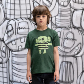 Handmade Rundhals-T-Shirts Die Kleinen Leiden
