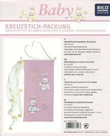 Schwangerschaft & Geburt Verzierungen & Trimmungen Sticksets Rico design
