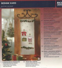 Weihnachten Verzierungen & Trimmungen Sticksets Rico Design