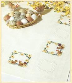 Ostern Kunsthandwerk & Hobby Textilien Sticksets Rico design