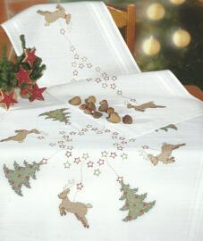 Weihnachten Textilien Sticksets Rico design