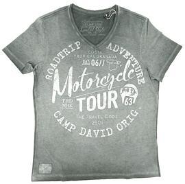 V-Neck-T-Shirts Camp David