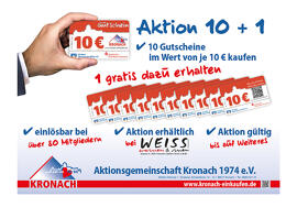 Muttertag Gutscheine Gutscheinkarten als Scheckkarte 10 + 1 Aktion