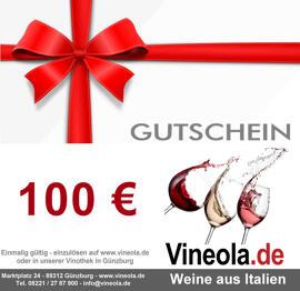 Gutscheine Vineola.de - Weine aus Italien
