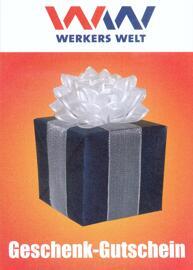 Vatertag Muttertag Weihnachten Gutscheine WERKERS WELT Günzburg