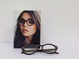 Gesundheit & Schönheit EINSTOFFEN Holzbrille
