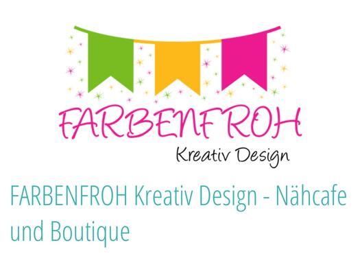 Farbenfroh Kreativ Design Näh-Cafe & Boutique Shop