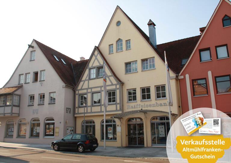 Raiffeisenbank Weißenburg-Gunzenhausen eG, Hauptgeschäftsstelle Gunzenhausen Gunzenhausen