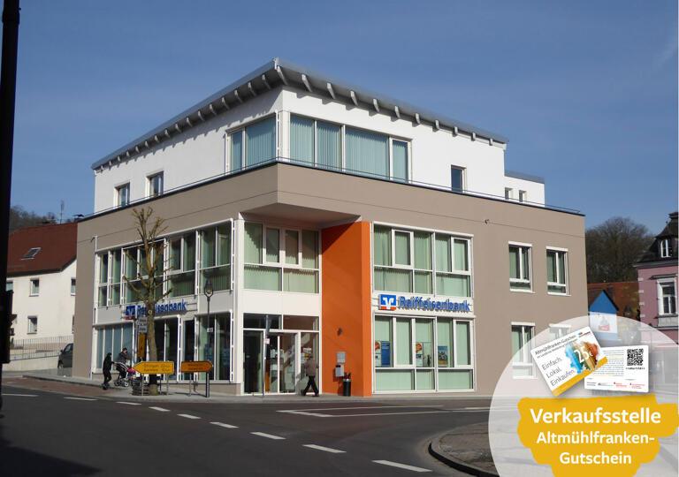 Raiffeisenbank Weißenburg-Gunzenhausen eG, Geschäftsstelle Treuchtlingen Treuchtlingen