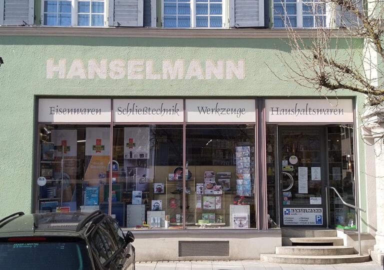 Hanselmann Eisenhandlung Gunzenhausen