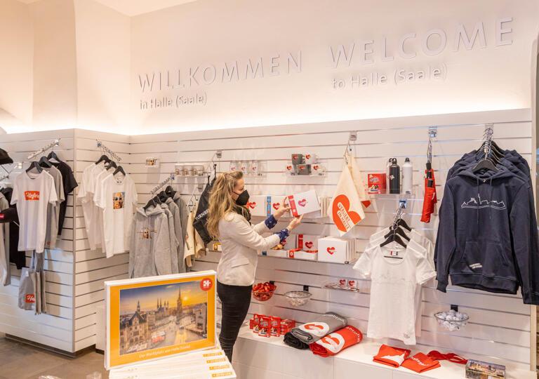 Tourist-Information Halle (Saale) & hallesaale*-Shop Halle (Saale)