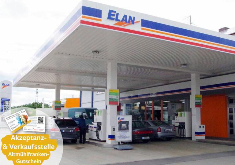 Tankstelle ELAN Gunzenhausen