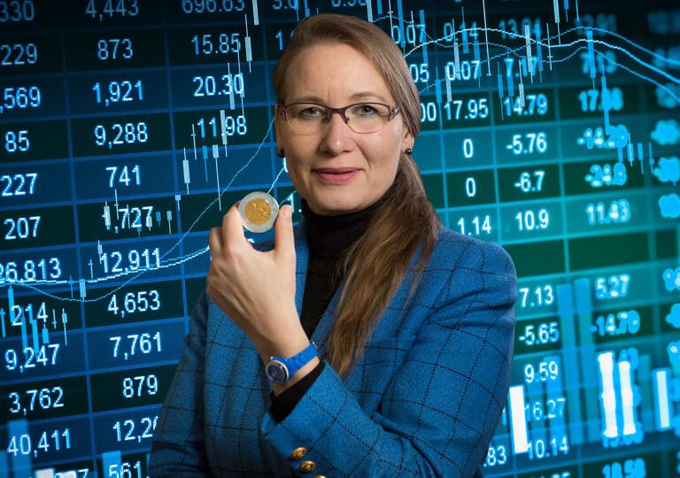 Zahlenbotschafterin Beatrix Papen Bedburg