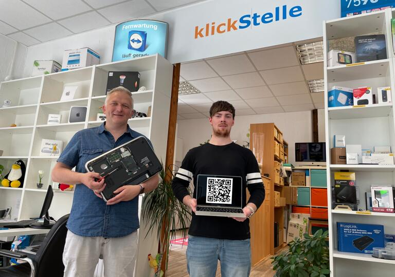 klickStelle IT PC/Mac Reparatur Schleusingen