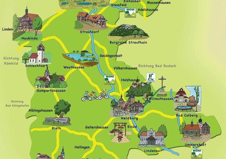 Tourismusverein Heldburger Land e.V. Heldburg