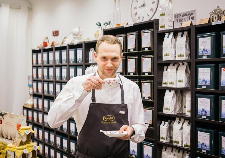 Hamburger Teezeit - Bio-Zertifizierung: DE-ÖKO-037 Hamburg