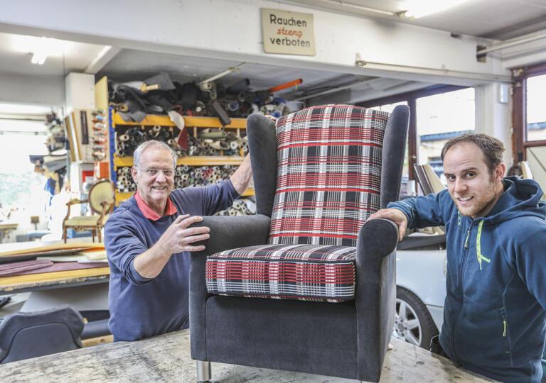 Möbelpolsterei und Auto Sattlerei Schuchhardt Ettlingen