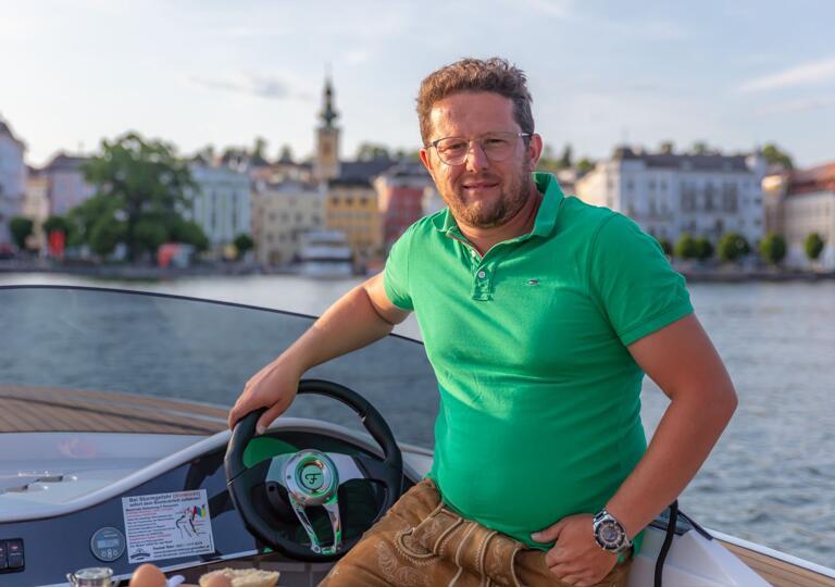 Bootsvermietung Dominik Huber Gmunden