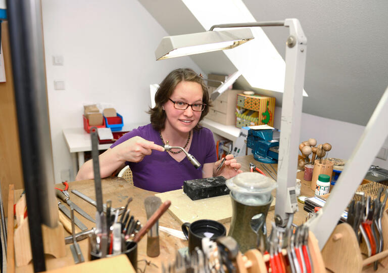 Goldschmiede Eva Satzinger Burgsalach