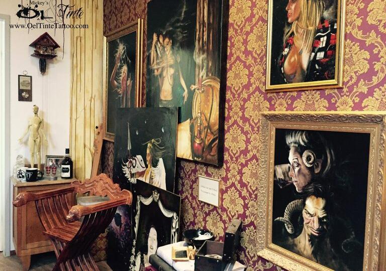 Öl & Tinte Tattoo Gallery & Bar Freilassing