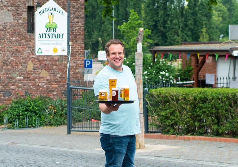 Biergarten zur Altstadt Monheim am Rhein