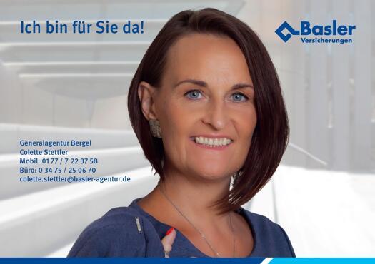 Colette Stettler, Basler-Agentur Eisleben