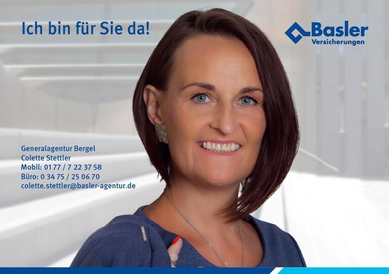 Colette Stettler, Basler-Agentur Eisleben Lutherstadt Eisleben