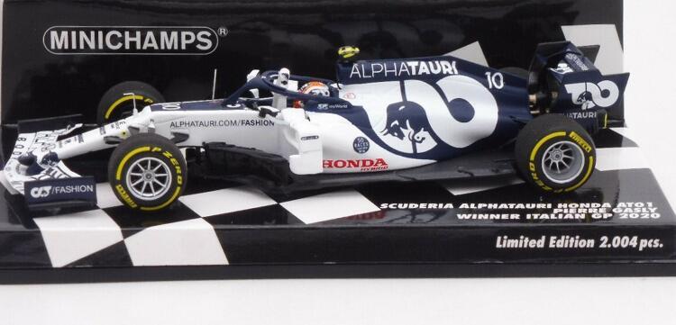 Alpha Tauri AT01, Pierre Gasly, Sieger des GP Italien 2020