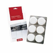 Accessoires pour cafetières et machines à expresso Nettoyants pour fours et grils Miele