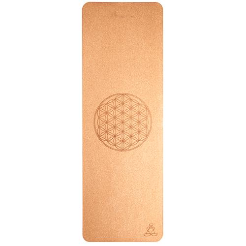 Berk - Yogamat Cork Flower of Life 6mm