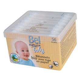 Wattestäbchen Baby & Kleinkind Bel Nature