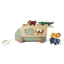 Puzzles à encastrement Camions et engins de chantier jouets Jouets à tirer et à pousser Jouets à trier et à empiler Coffrets cadeaux pour bébés Trixie