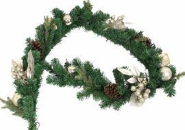 Décorations de Noël et saisonnières Guirlandes et cordons lumineux Couronnes et guirlandes