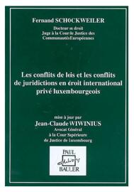Rechtsbücher Fernand Schockweiler, Jean-Claude Wiwinius