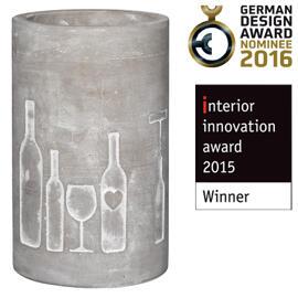 Getränkewannen & -kühler Dekorative Gefäße Weinflaschenhalter Räder
