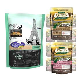 Nourriture humide Nourriture sèche Bon appétit/Stuzzy