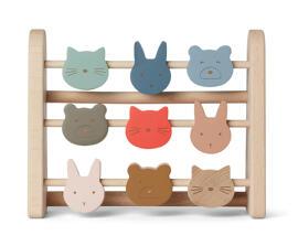 Schieberechner Baby-Aktiv-Spielzeug ABC-Lernspielzeuge Liewood