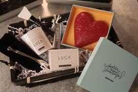 Kits de cosmétiques Tablette de chocolat LUCA X GENAVEH