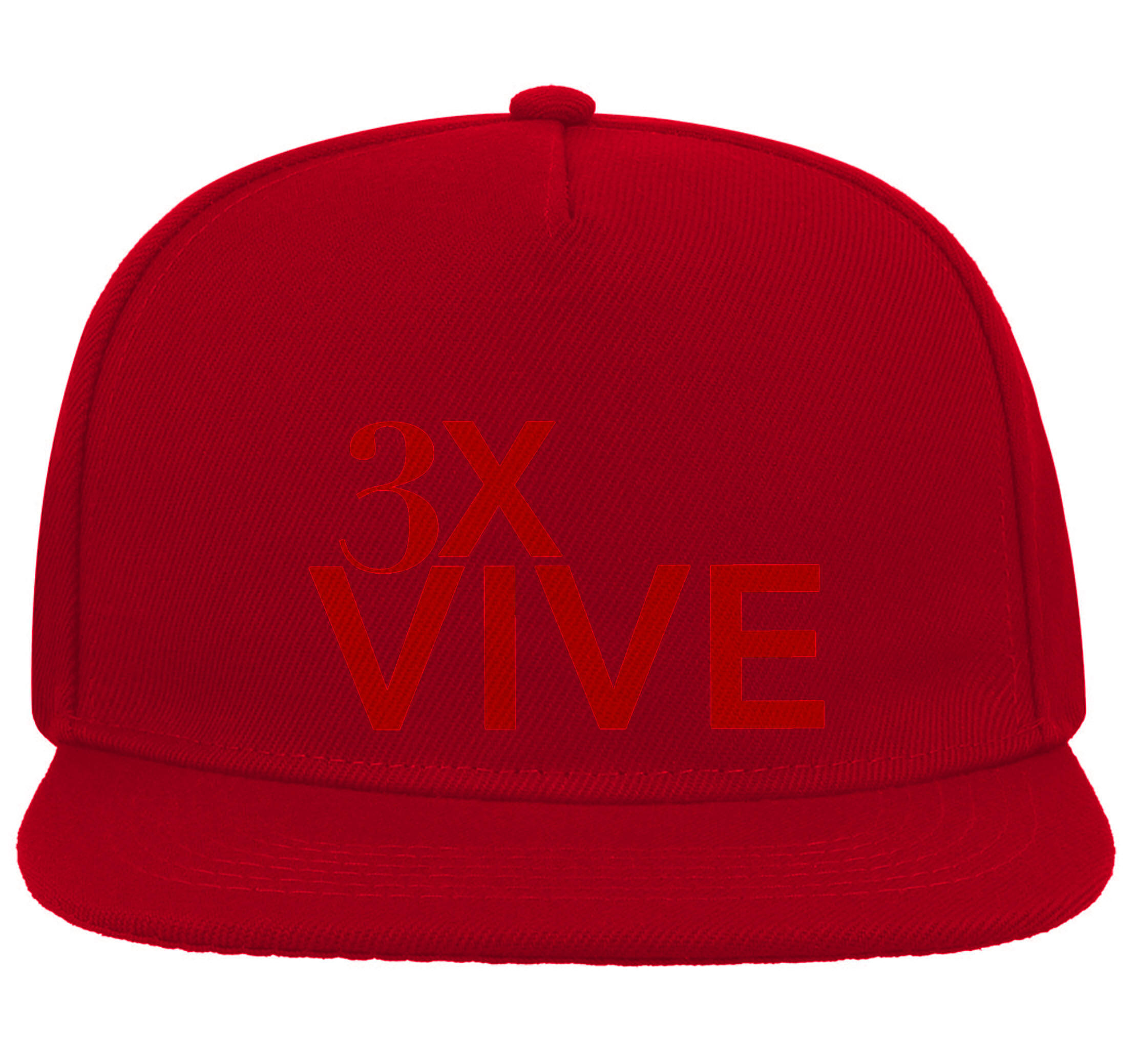 CASQUETTE ROUGE 3XVIVE