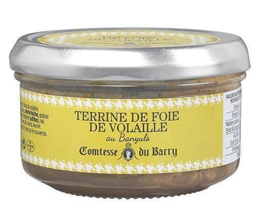 Terrine de foie de volaille au Banyuls 140g